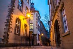 Luxembourg gata Royaltyfria Bilder