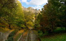 Luxembourg gorge park Stock Images