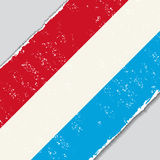 Luxembourg grunge flag. Vector illustration. Stock Images