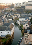 Luxembourg historical center Stock Photo