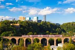 Luxembourg-Kirchberg Photographie stock libre de droits
