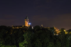 Luxembourg by night Royalty Free Stock Photography