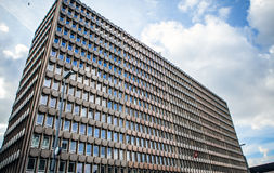 LUXEMBOURG - OCTOBER 30, 2015: Modern architecture of European buildings in Luxembourg. LUXEMBOURG - OCTOBER 30, 2015: Modern architecture of European buildings Stock Photography