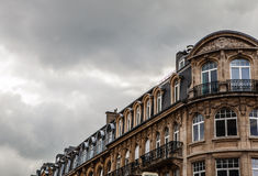 LUXEMBOURG - OCTOBER 30, 2015: Traditional architecture of vintage European buildings & landmarks in Luxembourg. LUXEMBOURG - OCTOBER 30, 2015: Traditional Stock Images