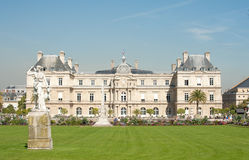 Luxembourg Palace. In Paris - Luxembourg Gardens Royalty Free Stock Photo
