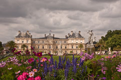 Luxembourg Palace. And Gardens - Paris - France stock images