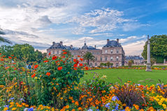 Luxembourg Palace Stock Photography