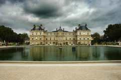 Luxembourg Palace. Palace in Jardin du Luxembourg, Paris, France stock photography