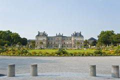 The Luxembourg Palace. Stock Photos