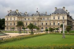 Luxembourg Palace Royalty Free Stock Photo