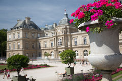 Luxembourg Palace. The beautiful palace of Luxembourg in Paris, France royalty free stock photos