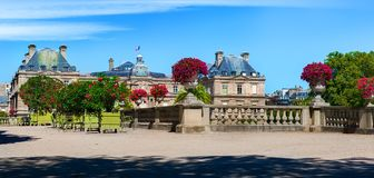 Luxembourg Palace Paris Stock Images