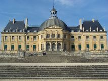 Luxembourg palace castle at Paris city Royalty Free Stock Photo