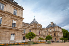 Luxembourg Palace facade. Paris, France Royalty Free Stock Images