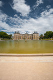 Luxembourg Palace Gardens Fountain Stock Photography