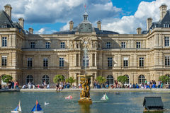 Luxembourg Palace Stock Photo