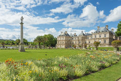 The Luxembourg Palace in The Jardin du Luxembourg or Luxembourg Stock Photos