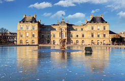 Luxembourg Palace in Jardin du Luxembourg, Paris, France Royalty Free Stock Photo