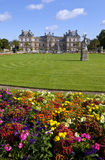 Luxembourg Palace in Jardin du Luxembourg in Paris. The magnificent Luxembourg Palace in the Jardin du Luxembourg in Paris, France stock photography