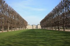Luxembourg Palace in the Luxembourg Gardens. Paris Royalty Free Stock Photography