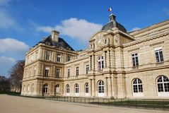 Luxembourg Palace, Paris Stock Image