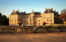 Luxembourg Palace paris Royalty Free Stock Photos