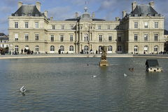 Luxembourg Palace, Paris. The famous Palais du Luxembourg (=Luxembourg Palace) in Paris, France. For details please see stock photos