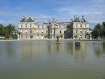 Luxembourg Palace, Paris. France Stock Photos