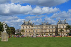 Luxembourg palace in Paris. Capital and the most populous city of France royalty free stock images