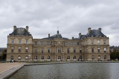 The Luxembourg palace in Paris Stock Images