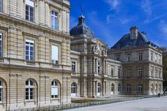 Luxembourg Palace, Paris, France Royalty Free Stock Photos