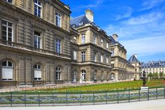 Luxembourg Palace, Paris, France Royalty Free Stock Photography