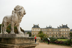 Luxembourg Palace. In Paris, France Royalty Free Stock Image