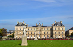 Luxembourg Palace in Paris, France Royalty Free Stock Photos