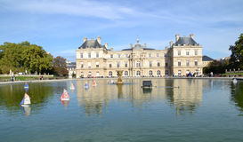 Luxembourg Palace in Paris, France Stock Photography
