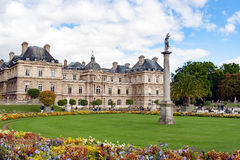 Luxembourg Palace , Paris, France Royalty Free Stock Photo