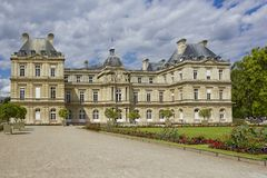 Luxembourg Palace in Paris, France Stock Photos