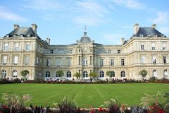 Luxembourg Palace in Paris, France Royalty Free Stock Photo