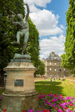 Luxembourg palace in paris, france Royalty Free Stock Image