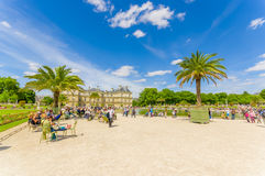 Luxembourg Palace, Paris, France Stock Image
