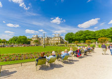 Luxembourg Palace, Paris, France Royalty Free Stock Images