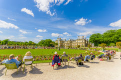 Luxembourg Palace, Paris, France Stock Images