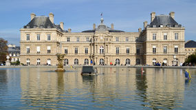 Luxembourg Palace in Paris, France Royalty Free Stock Images