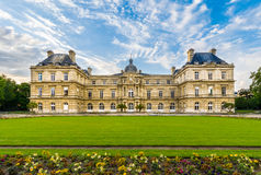 The Luxembourg Palace, Paris, France Royalty Free Stock Images