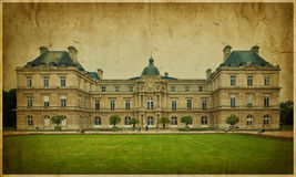 The Luxembourg Palace, Paris. French Senate. Stock Photo