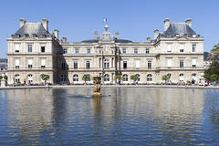Luxembourg palace, Paris. Stock Photos