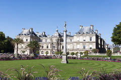 Luxembourg palace, Paris. Stock Image