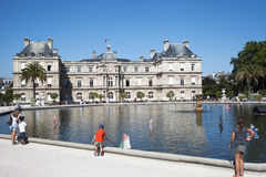 Luxembourg palace, Paris. Stock Images