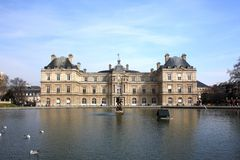 Luxembourg Palace. Paris Stock Image