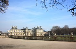 Luxembourg Palace. Paris Stock Photography
